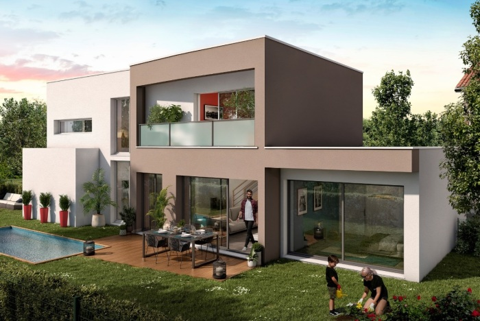 Maisons neuves et appartements neufs Balma référence 5539 : aperçu n°3