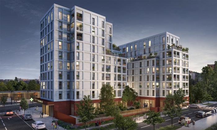 Appartements neufs Saint-Agne référence 5553 : aperçu n°0