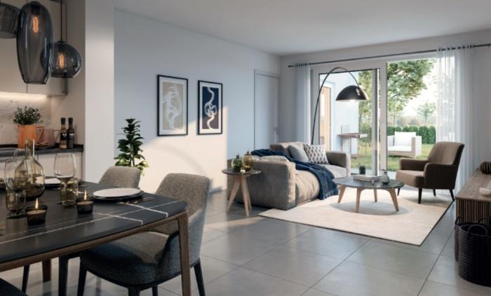 Appartements neufs Bruguières référence 5583 : aperçu n°1