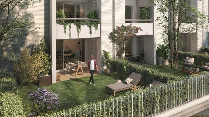 Appartements neufs Rangueil référence 5577 : aperçu n°2