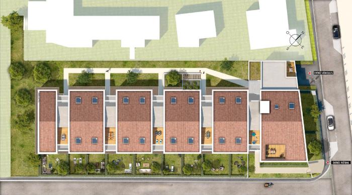 Appartements neufs Rangueil référence 5577 : aperçu n°3