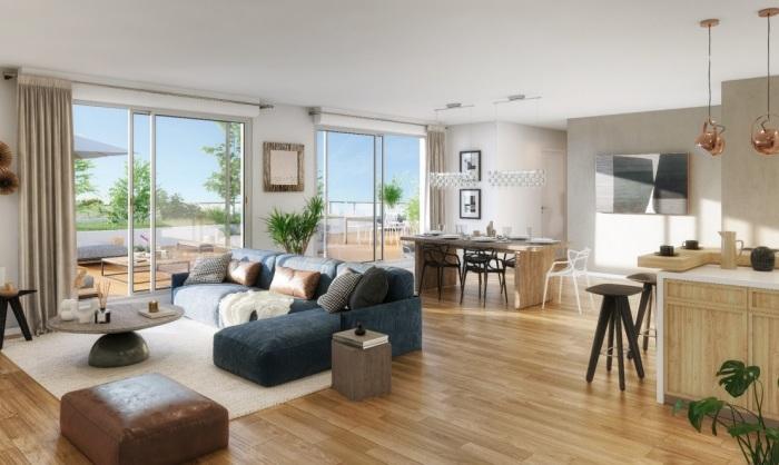 Appartements neufs Rangueil référence 5588 : aperçu n°1