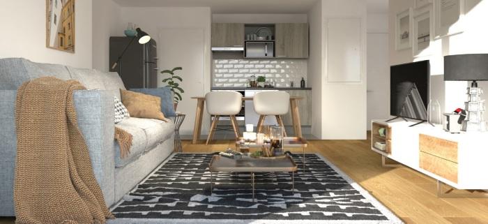 Appartements neufs Barrière de Paris référence 5612 : aperçu n°1