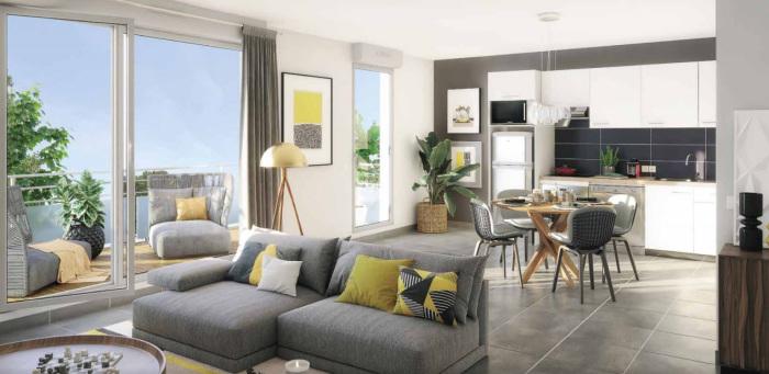 Appartements neufs Saint-Simon référence 5618 : aperçu n°1
