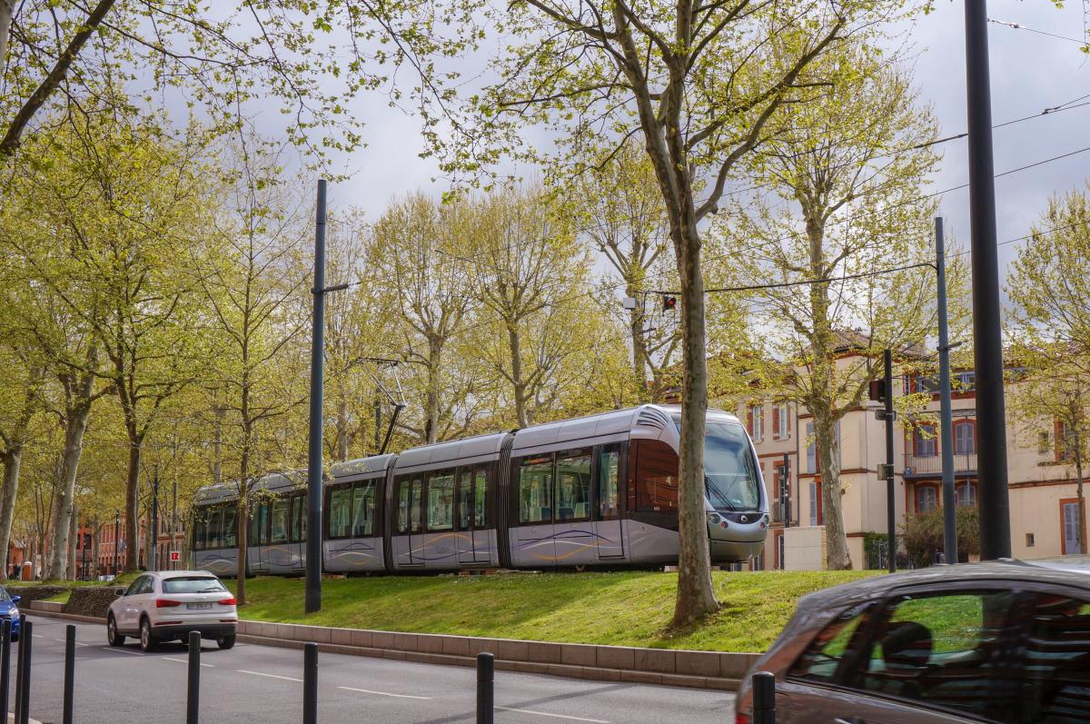 loi Climat et Résilience-Le tramway à Toulouse