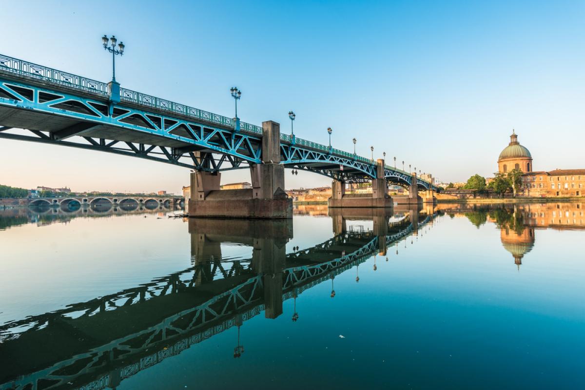 Pont Saint Pierre, à Toulouse