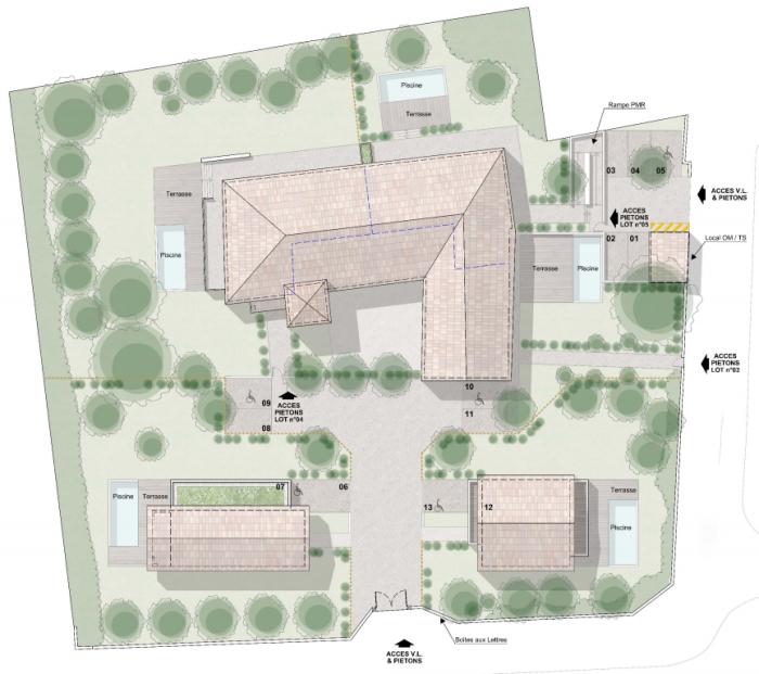 Maisons neuves et appartements neufs Goyrans référence 5649 : aperçu n°2