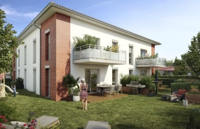 Appartements neufs Pechbonnieu référence 5647 : aperçu n°2