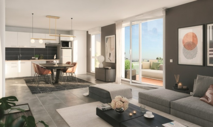 Appartements neufs Pechbonnieu référence 5647 : aperçu n°1
