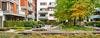 quartier Guillaumet à Toulouse - vue d'un quartier vert