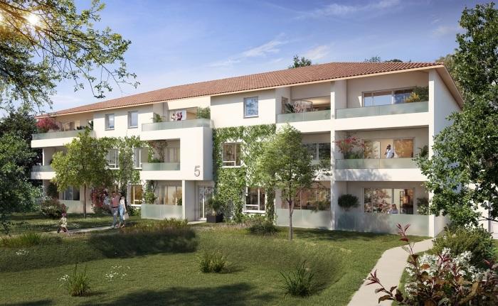 Appartements neufs Villeneuve-Tolosane référence 5657 : aperçu n°2