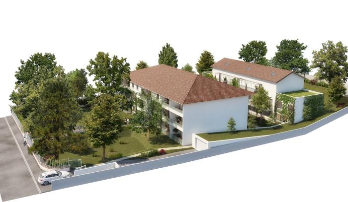 Appartements neufs Villeneuve-Tolosane référence 5657 : aperçu n°3