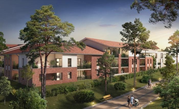 Appartements neufs Castanet-Tolosan référence 5659 : aperçu n°0