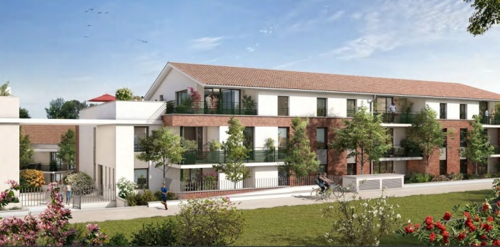 Appartements neufs Castanet-Tolosan référence 5659 : aperçu n°2
