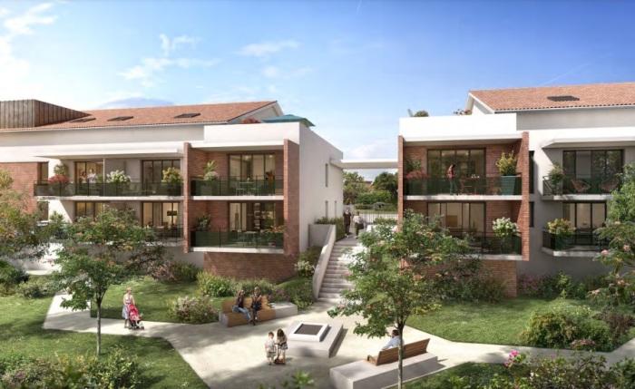 Appartements neufs Castanet-Tolosan référence 5659 : aperçu n°3