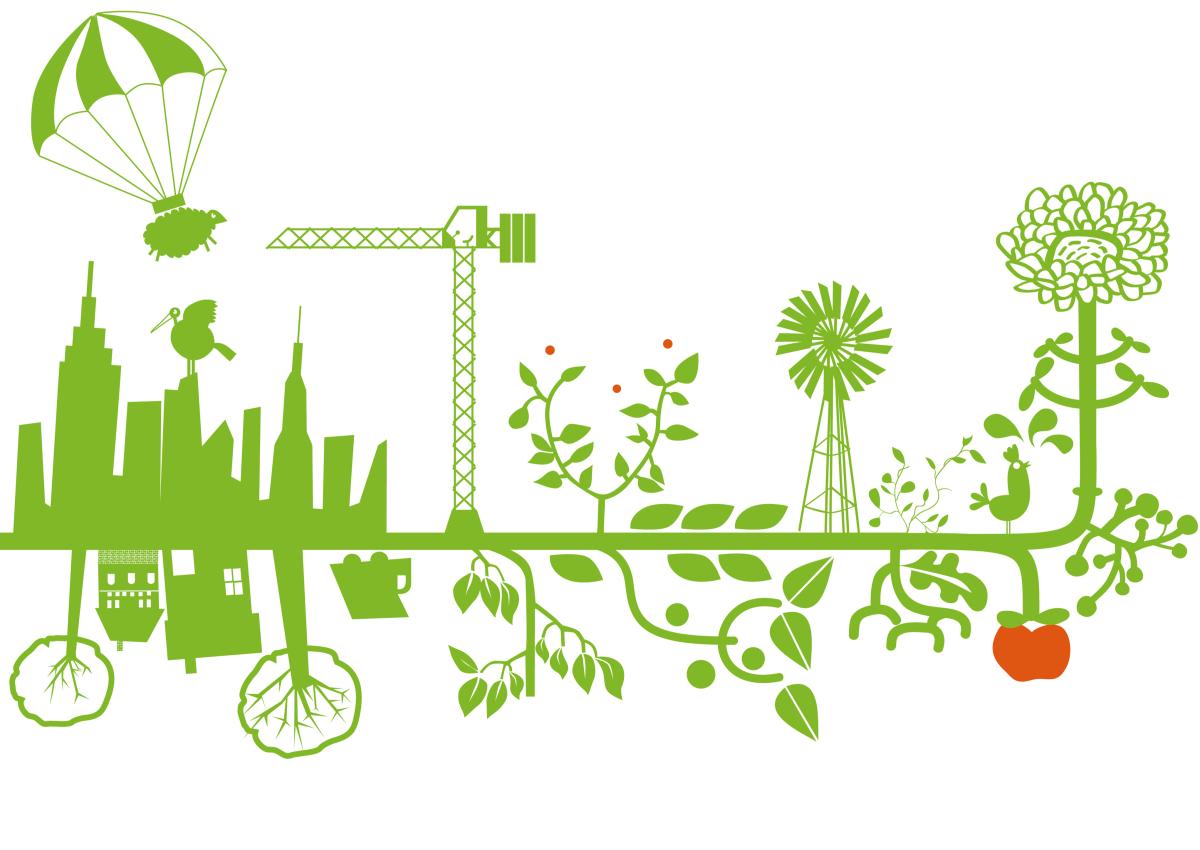 Immobilier durable – Illustration d'une ville écoresponsable