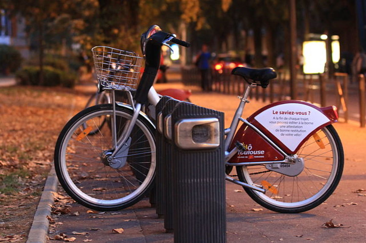 Grand Matabiau à Toulouse - Vélô Toulouse en libre service