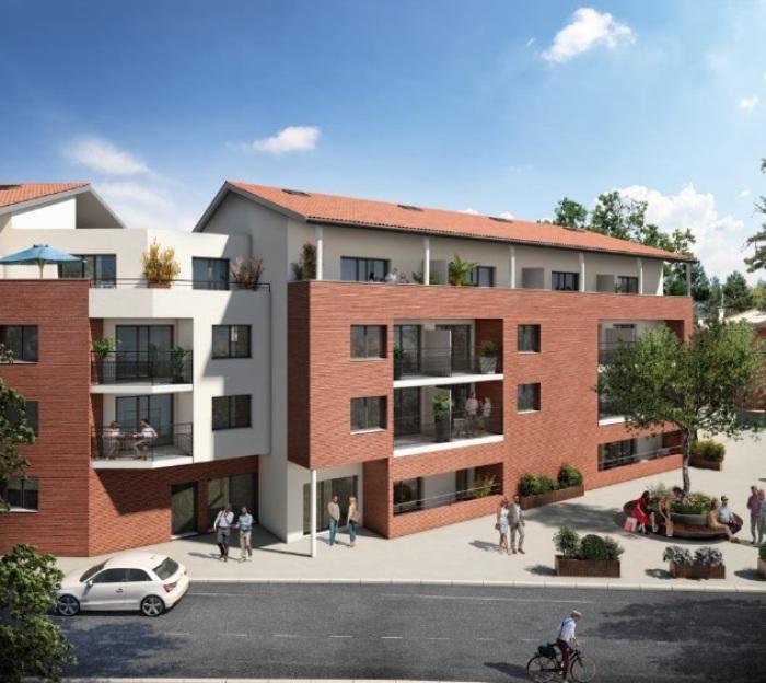 Appartements neufs Castanet-Tolosan référence 5670 : aperçu n°0