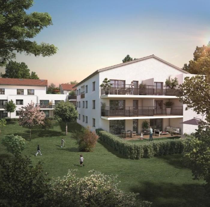 Appartements neufs Castanet-Tolosan référence 5670 : aperçu n°2