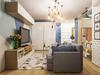 aménager un appartement neuf - vue d'un salon