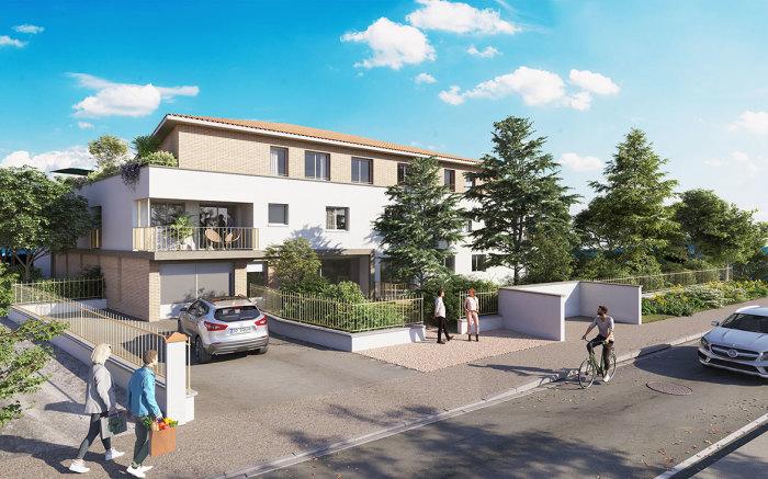 Appartements neufs Saint-Orens-de-Gameville référence 5701 : aperçu n°0