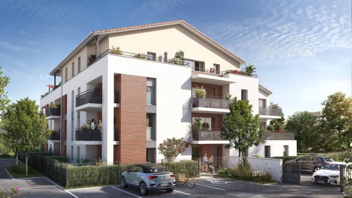 Appartements neufs Labarthe-sur-Lèze référence 5714 : aperçu n°0