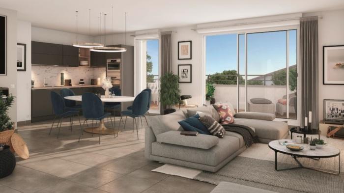 Appartements neufs Labarthe-sur-Lèze référence 5714 : aperçu n°1