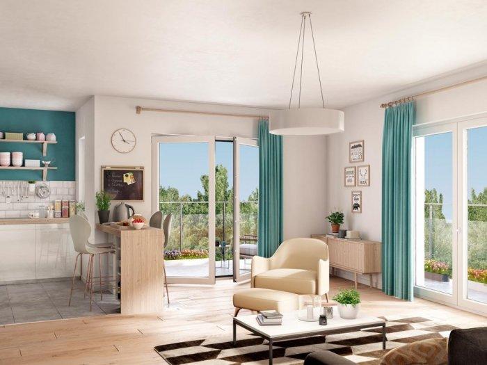 Appartements neufs Roques référence 5728 : aperçu n°1