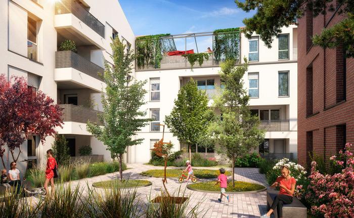 Appartements neufs Lalande référence 5754 : aperçu n°2