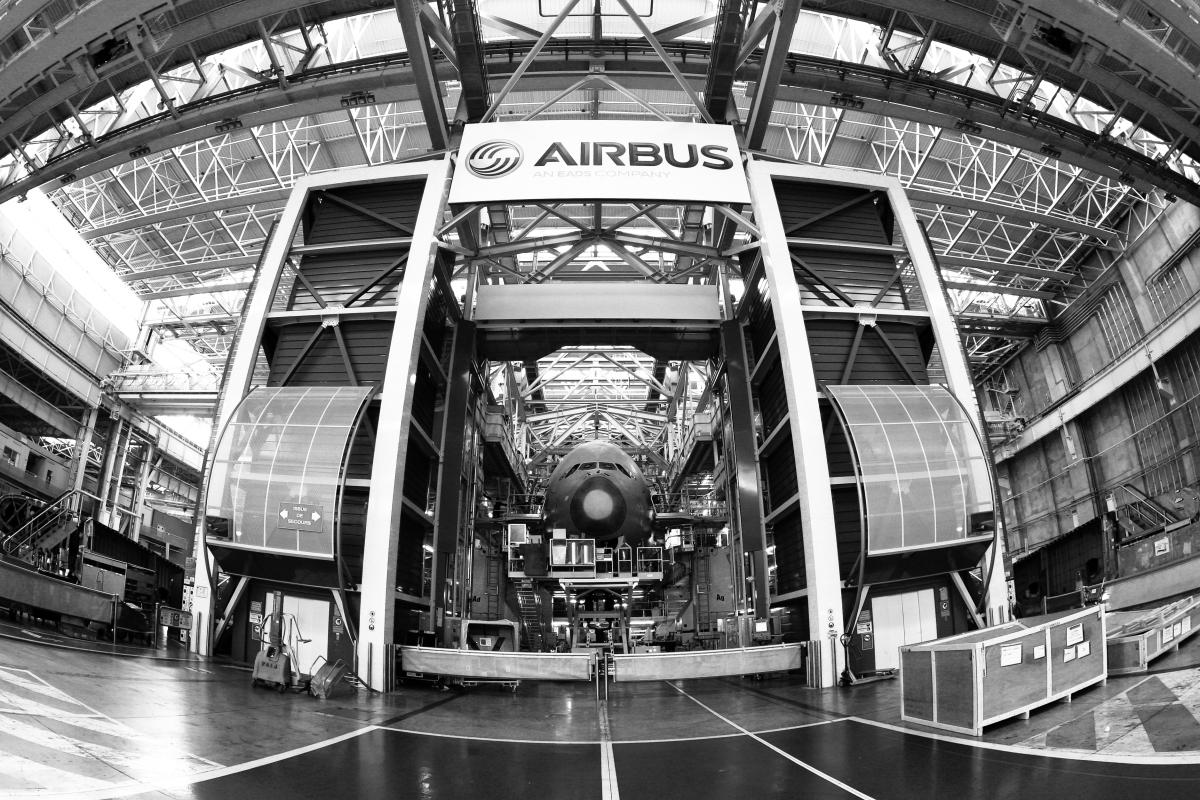 Quartiers où investir à Toulouse – chaine de montage d'un avion Airbus