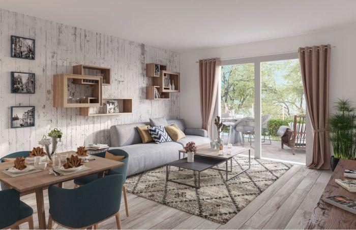 Appartements neufs Saint-Jory référence 5746 : aperçu n°1