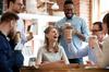 Campus Orange Balma - Collègues heureux de travailler ensemble
