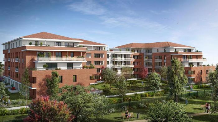 Appartements neufs Castanet-Tolosan référence 5751 : aperçu n°0