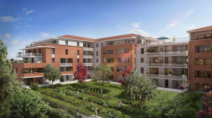 Appartements neufs Castanet-Tolosan référence 5751 : aperçu n°2