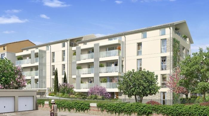 Appartements neufs Pont des Demoiselles référence 5776 : aperçu n°2