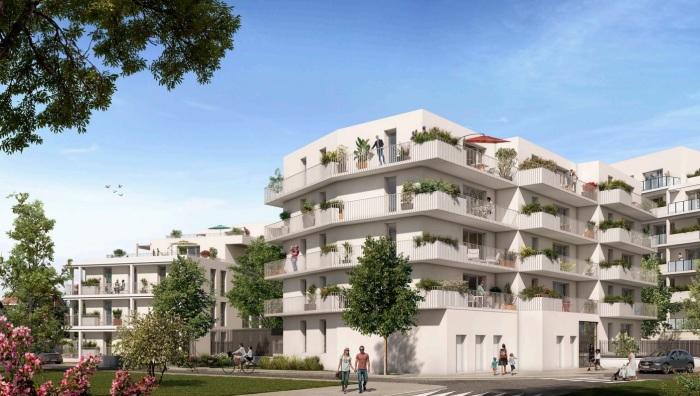 Appartements neufs Lalande référence 5793 : aperçu n°0