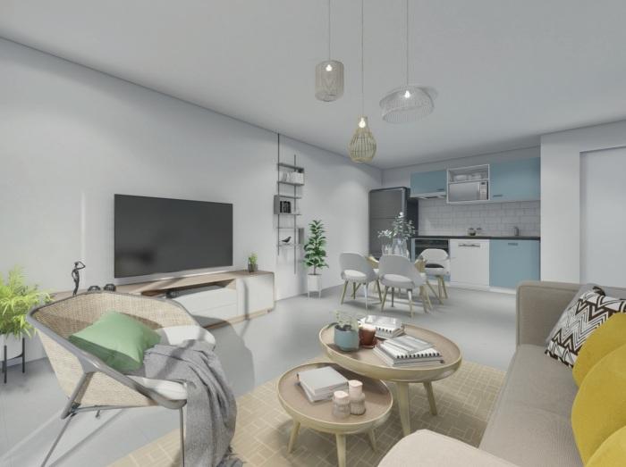 Appartements neufs Mondonville référence 5789 : aperçu n°1