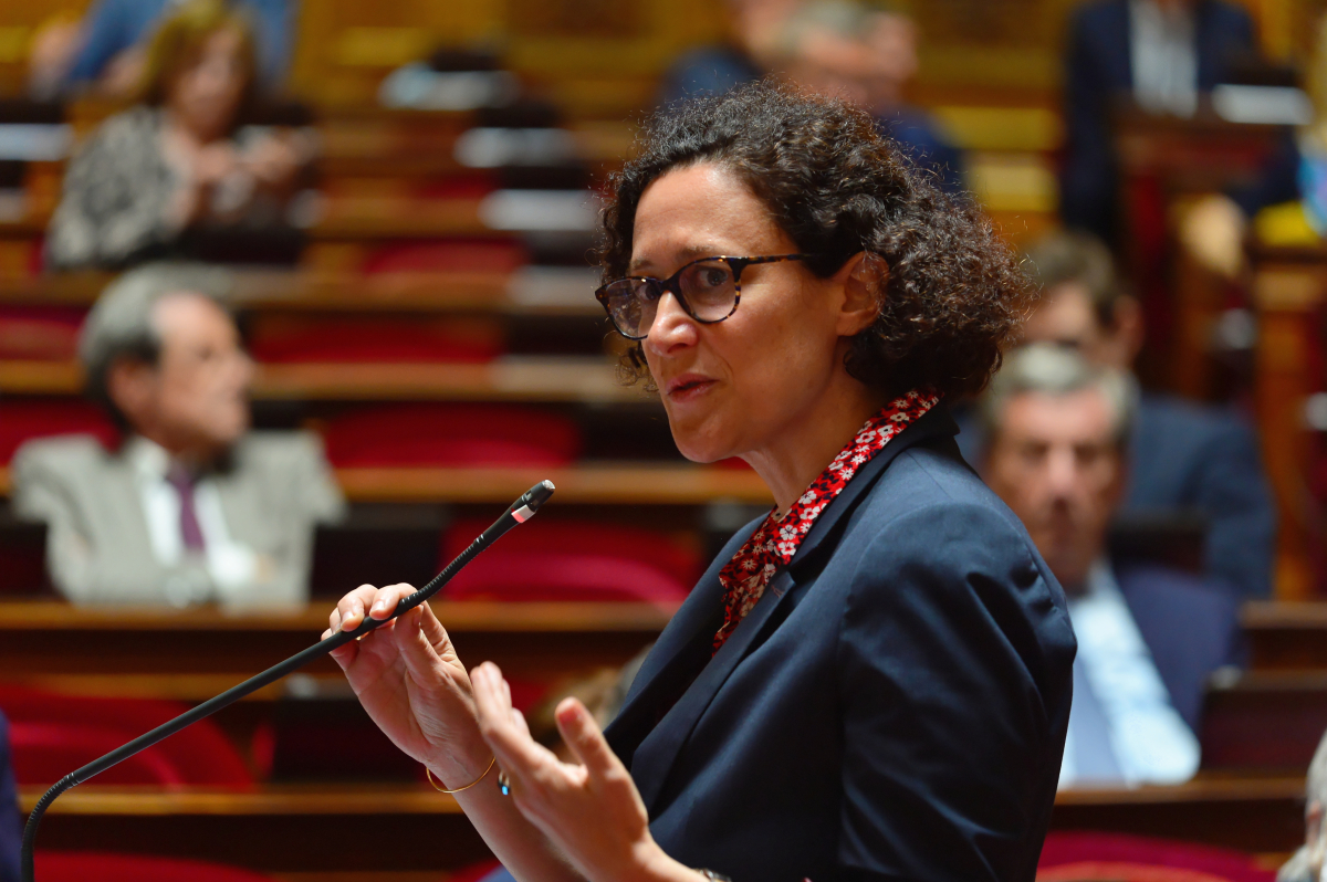 commission rebsamen - La ministre déléguée au Logement Emmanuelle Wargon
