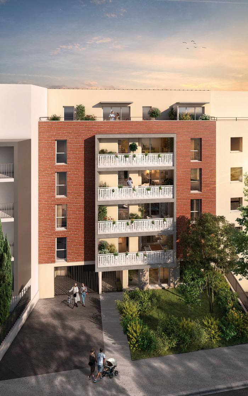Appartements neufs Barrière de Paris référence 5795 : aperçu n°2