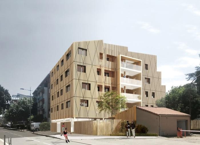 Appartements neufs La Roseraie référence 5806 : aperçu n°0