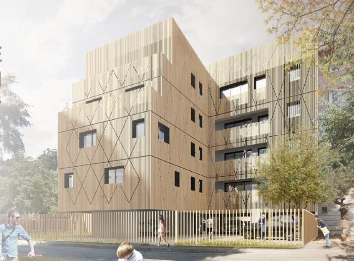 Appartements neufs La Roseraie référence 5806 : aperçu n°2