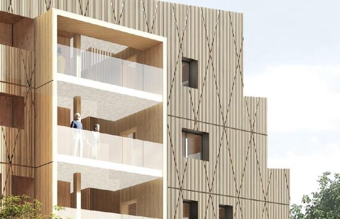 Appartements neufs La Roseraie référence 5806 : aperçu n°3