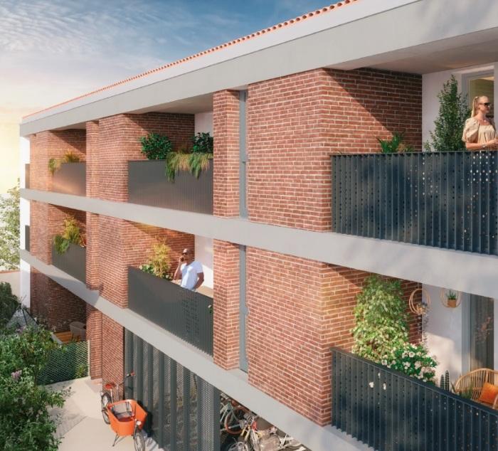 Appartements neufs Muret référence 5808 : aperçu n°2