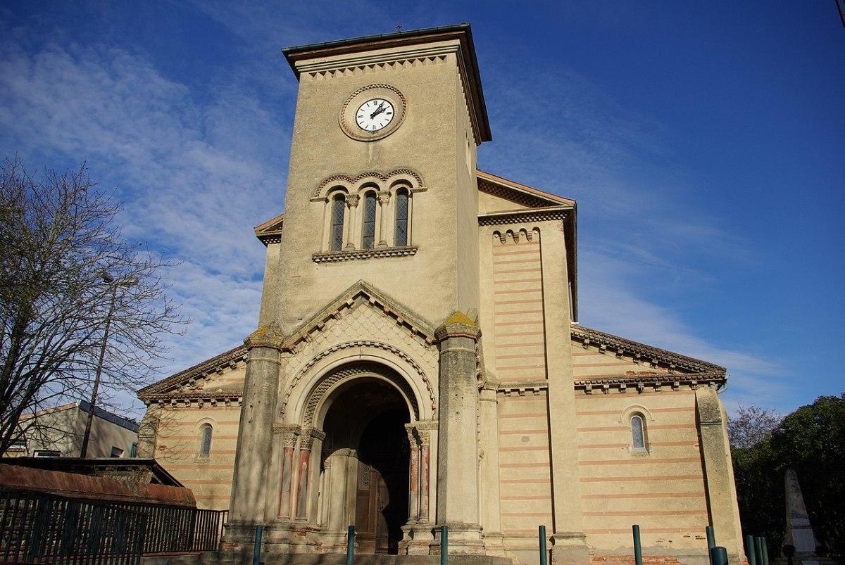 Programme immobilier neuf Saint-Martin-du-Touch - vue sur l'église de Saint-Martin-du-Touch