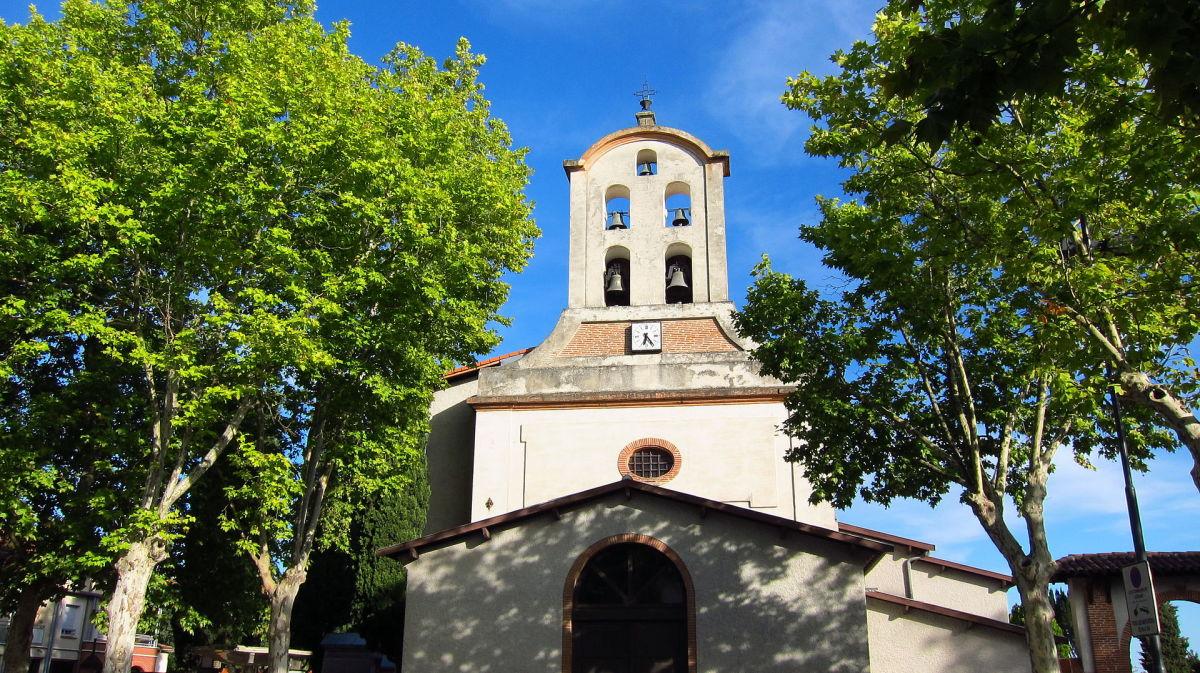 Achat appartement neuf Saint Simon – vue sur l'église du quartier Saint-Simon à Toulouse
