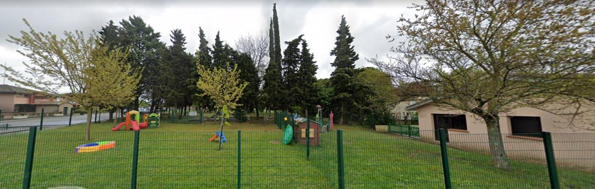 immobilier neuf à Saint-Geniès Bellevue - jardin de l'école