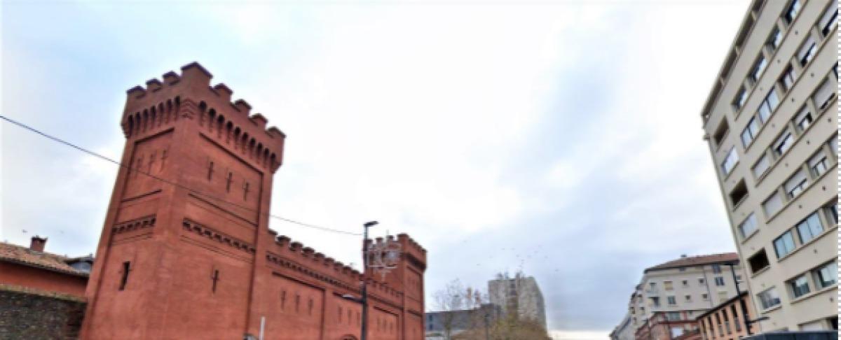 Immobilier neuf Toulouse Saint-Michel – vue sur l'ancienne prison de Saint-Michel