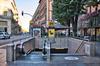 Entrée de la station de métro Esquirol à Toulouse