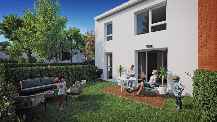 Appartements neufs Lalande référence 5821 : aperçu n°3