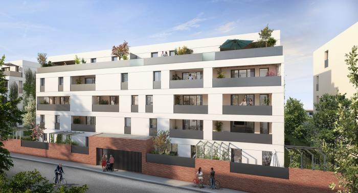 Appartements neufs Les Amidonniers référence 5871 : aperçu n°0